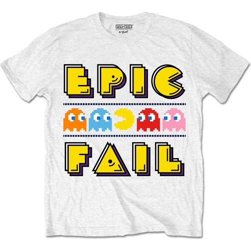Tricou Pac-Man Epic Fail