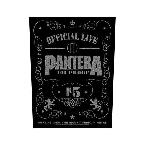 Back Patch Pantera 101 Proof