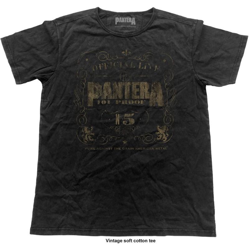 Tricou Pantera 101% Proof Vintage