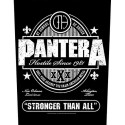 Back Patch Pantera Stronger That All