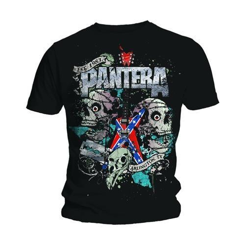 Tricou Pantera Texas Skull