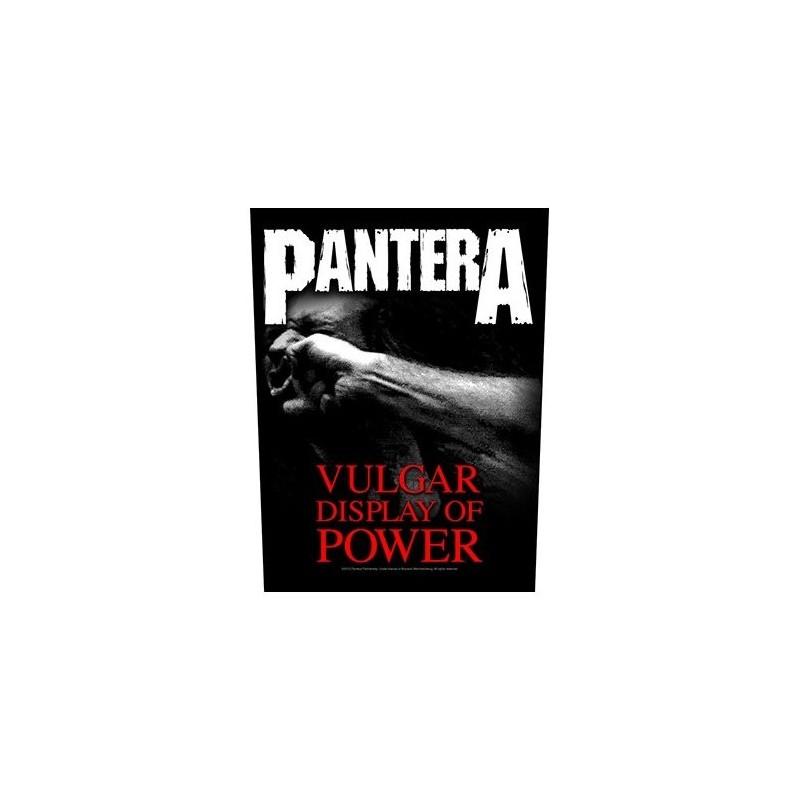 Back Patch Pantera Vulgar Display Of Power