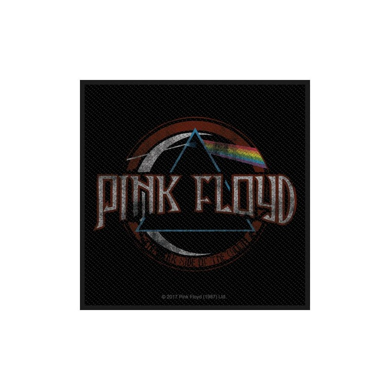 Patch Pink Floyd Distressed Dark Side of the Moon