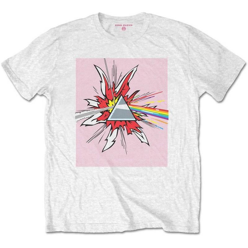 Tricou Pink Floyd Lichtenstein Prism