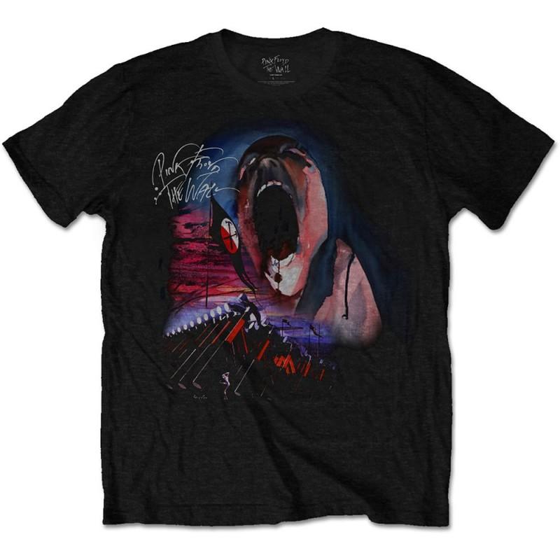 Tricou Pink Floyd The Wall Scream & Hammers