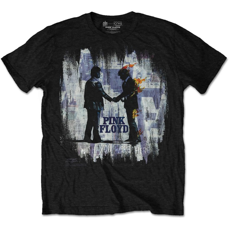 Tricou Pink Floyd Wish You Were Here Painting