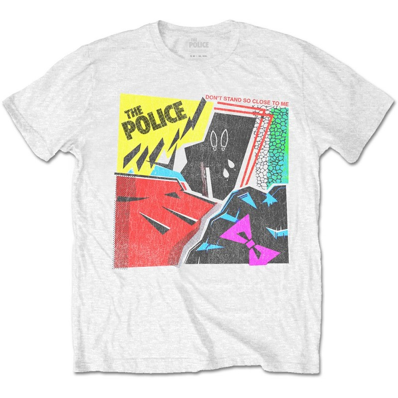 Tricou The Police Don't Stand