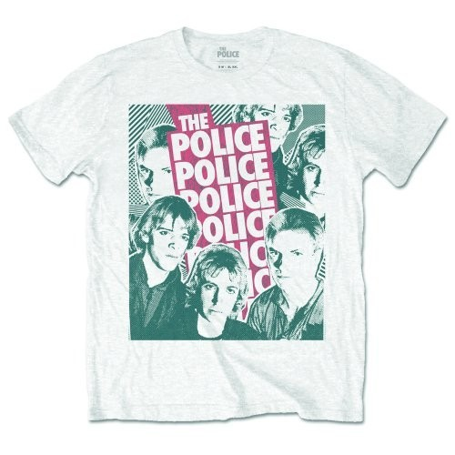 Tricou The Police Half-tone Faces