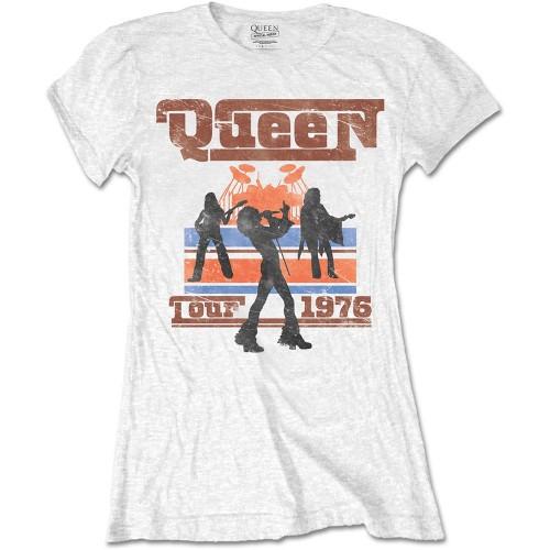 Tricou Damă Queen 1976 Tour Silhouettes