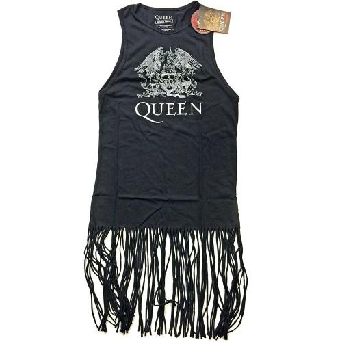 Rochie-tricou Queen Crest Vintage