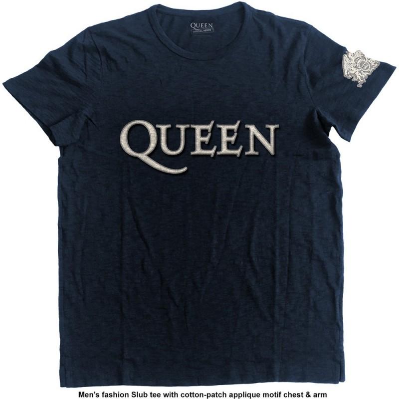 Tricou Queen Logo & Crest