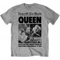Tricou Queen News of the World 40th Front Page