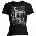 Tricou Damă R5 Grunge Collage
