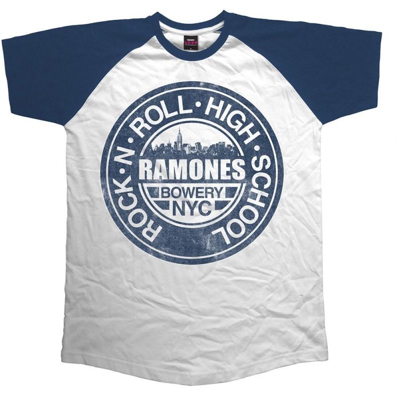 Tricou Ramones Bowery NYC