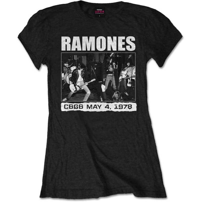 Tricou Damă Ramones CBGB 1978