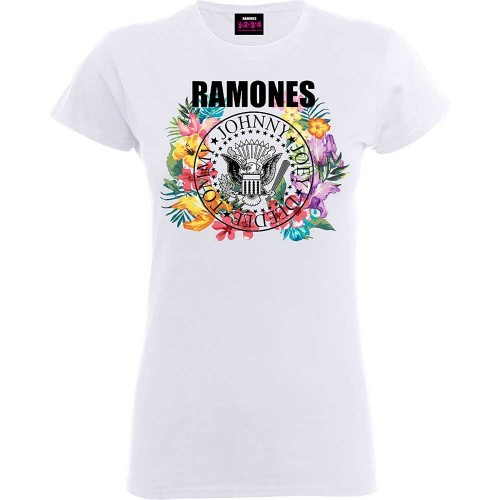 Tricou Damă Ramones Circle Flowers