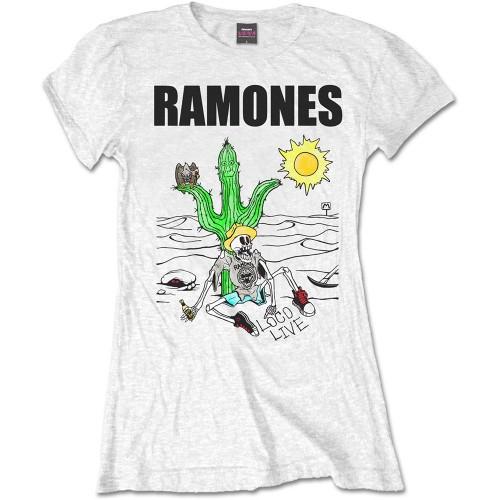 Tricou Damă Ramones Loco Live