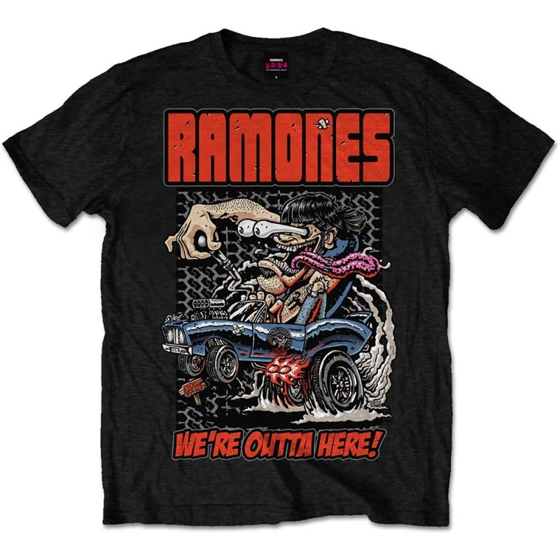 Tricou Ramones Outta Here