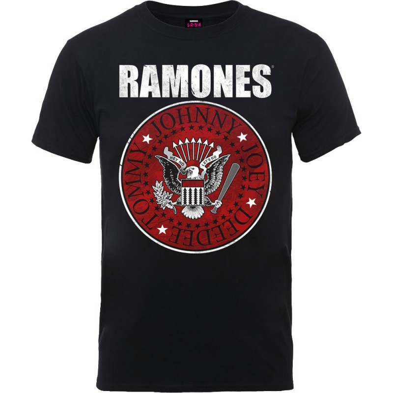Tricou Ramones Red Fill Seal