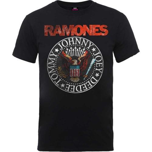 Tricou Ramones Vintage Eagle Seal