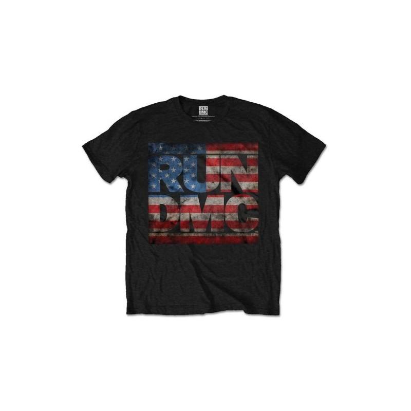 Tricou Run DMC Americana Logo