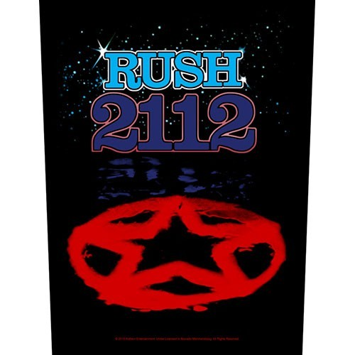 Back Patch Rush 2112