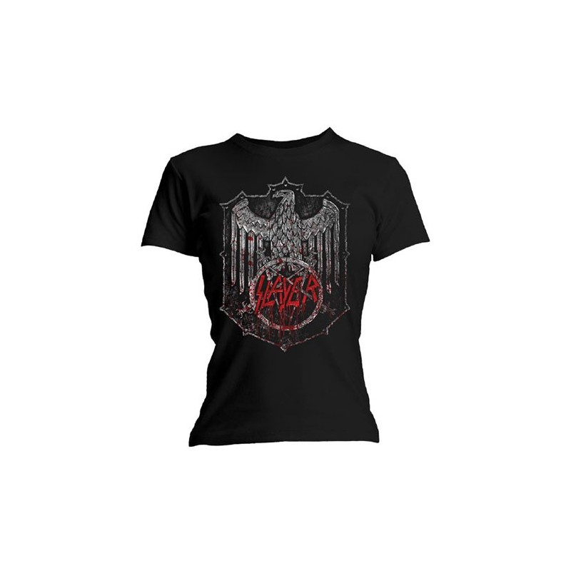 Tricou Damă Slayer Bloody Shield