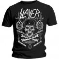 Tricou Slayer Skull & Bones Revised