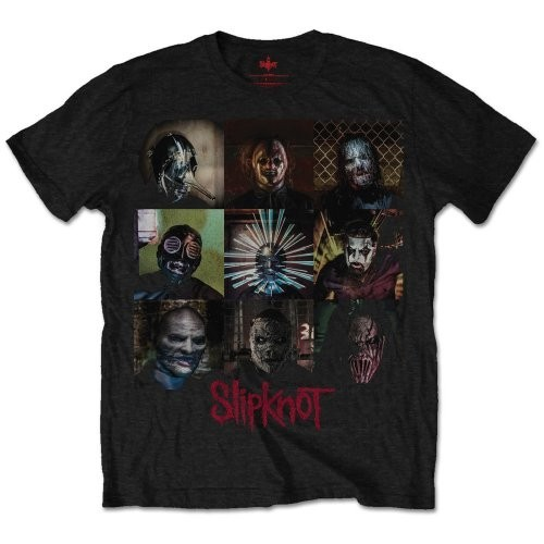 Tricou Slipknot Blocks