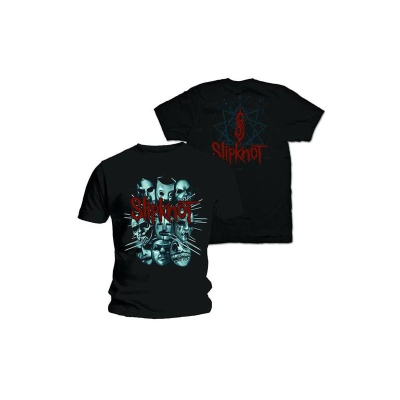 Tricou Slipknot Masks 2