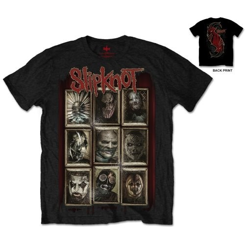 Tricou Slipknot New Masks