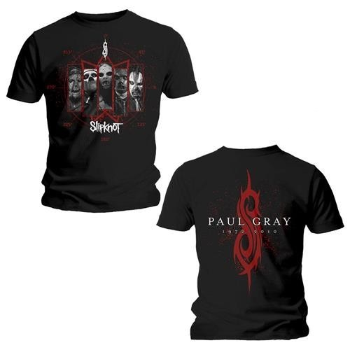 Tricou Slipknot Paul Gray