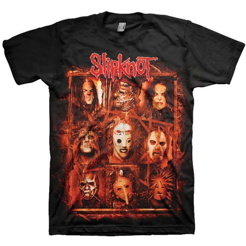 Tricou Slipknot Rusty Face