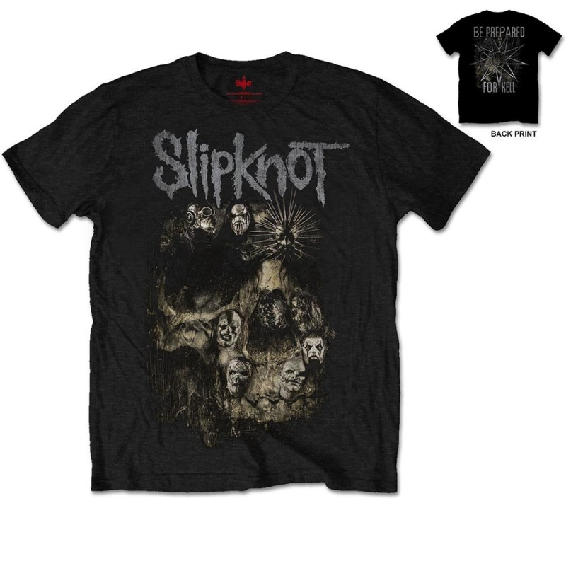 Tricou Slipknot Skull Group
