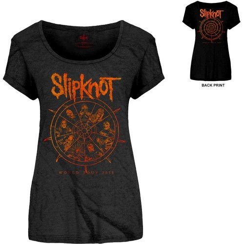 Tricou Damă Slipknot The Wheel