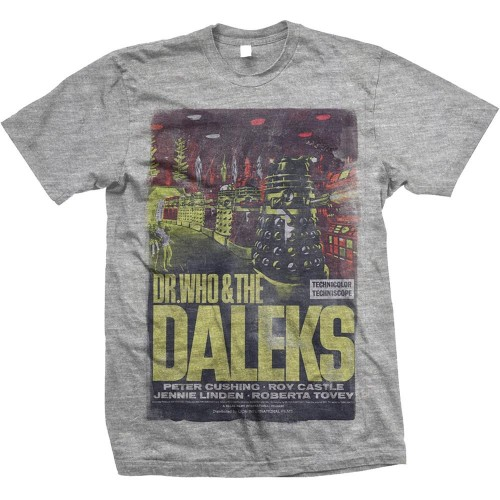 Tricou StudioCanal Dr Who & The Daleks