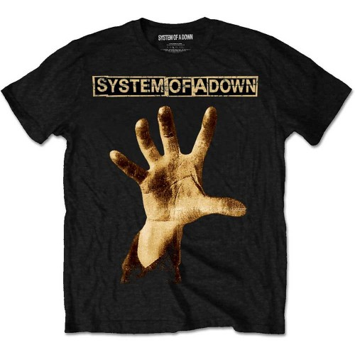 Tricou System Of A Down Hand