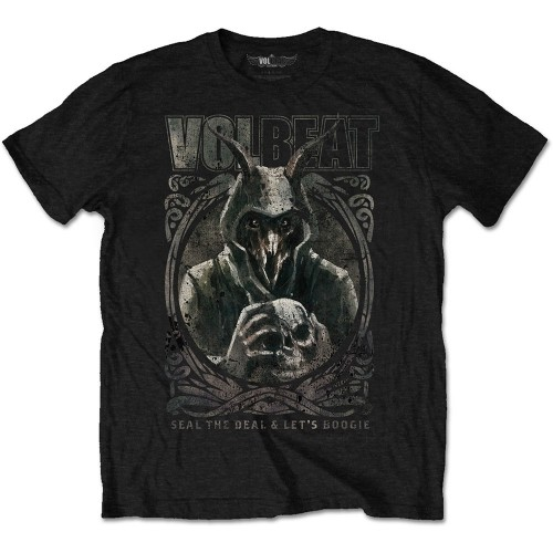 Tricou Volbeat Goat with Skull