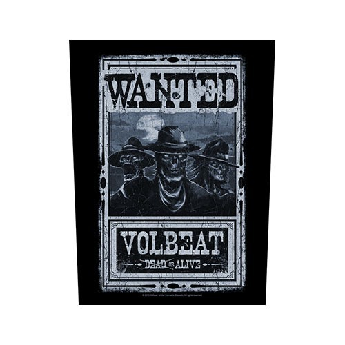Back Patch Volbeat Wanted