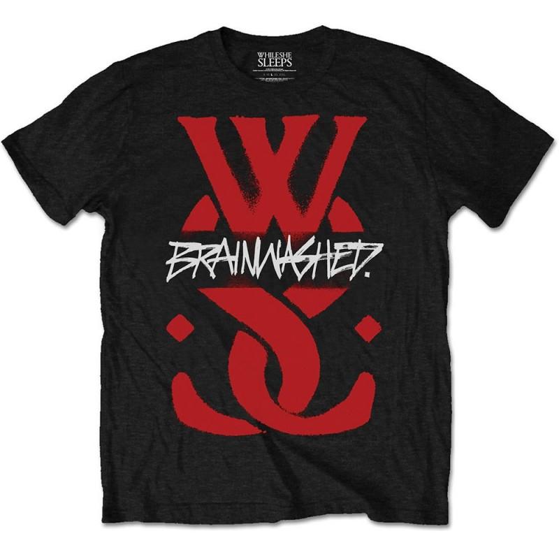 Tricou While She Sleeps Brainwashed Logo