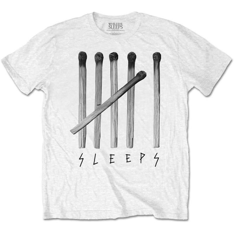 Tricou While She Sleeps Matches