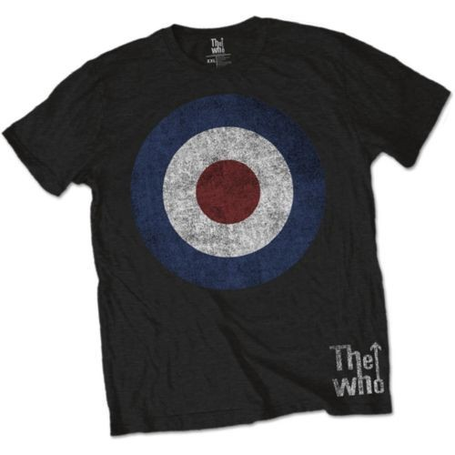 Tricou The Who Target Distressed