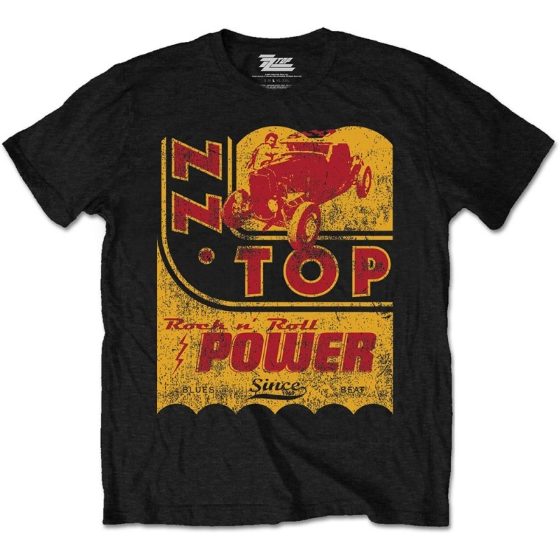 Tricou ZZ Top Speed Oil