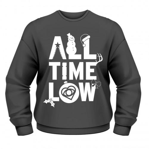 Bluză All Time Low Christmas Logo