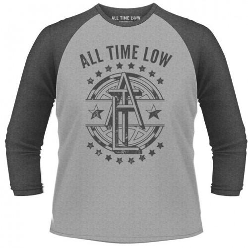 Tricou mânecă 3/4 All Time Low Emblem