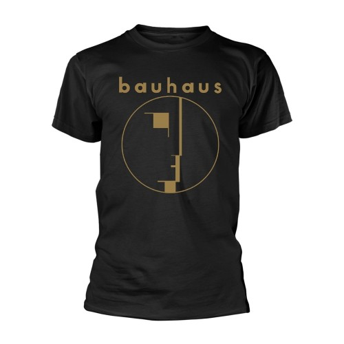 Tricou Bauhaus Spirit Logo Gold