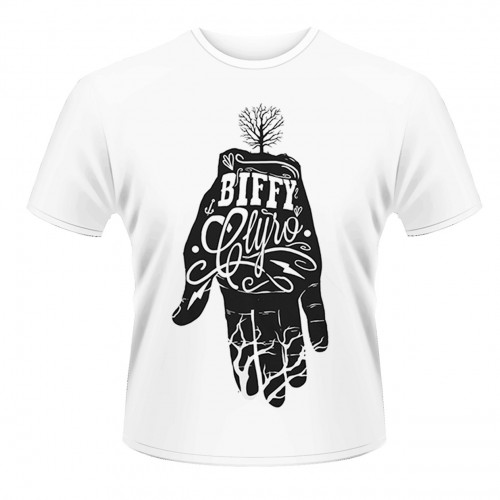 Tricou Biffy Clyro White Hand