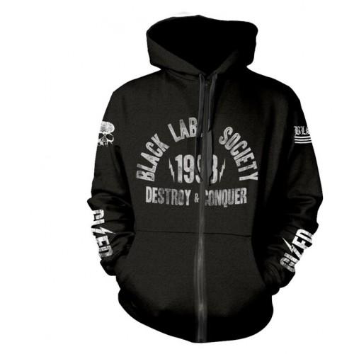 Hanorac cu fermoar Black Label Society Sdmf