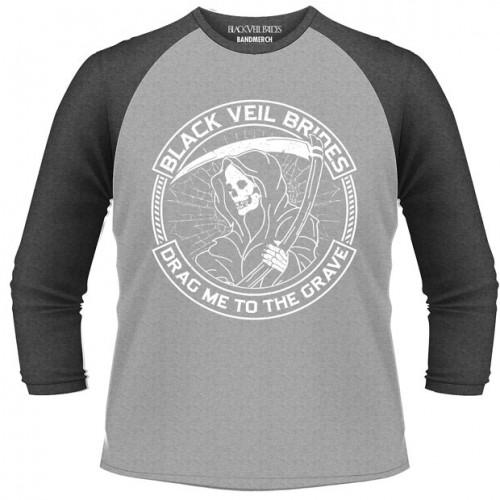 Tricou mânecă 3/4 Black Veil Brides Reaper