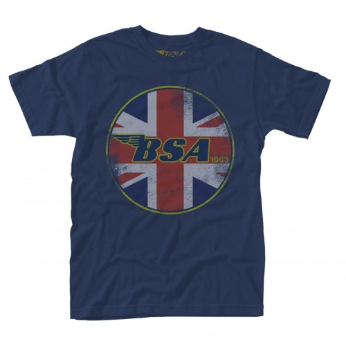 Tricou BSA Union Jack Logo